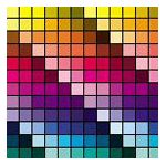 Pantone Color Chart in Adobe Photoshop