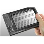 Aluratek Libre eBook reader landscape mode