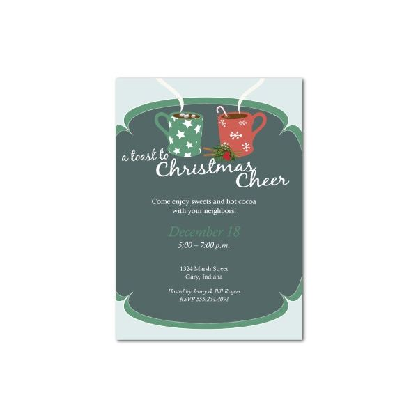 Top 10 Christmas Party Invitations Templates Designs for Parties – Microsoft Publisher Christmas Templates