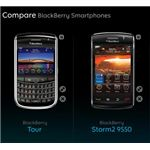 BlackBerry Tour Vs Storm 2