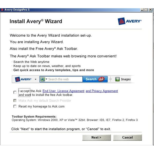 Avery Label Templates Ms Word 2007
