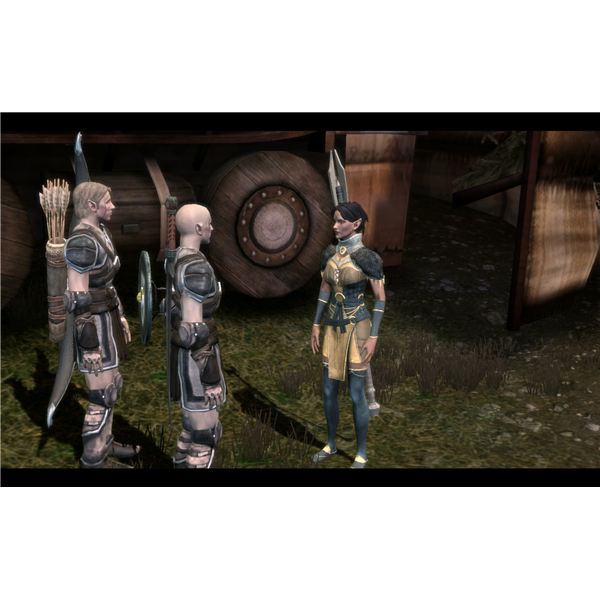 Dragon age origins walkthrough dalish origin story the cave and