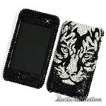 Tiger Swarovski Crystal Case