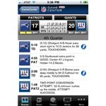 NFL.com Game Center Lite iPhone app