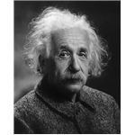 Albert Einstein Photograph