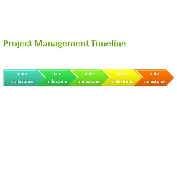 Word Timeline Template  Project Management Timeline Template Word