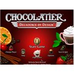 Chocolatier_Main Menu Screen