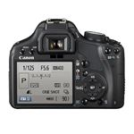 Canon 500D DSLR - Back Panel