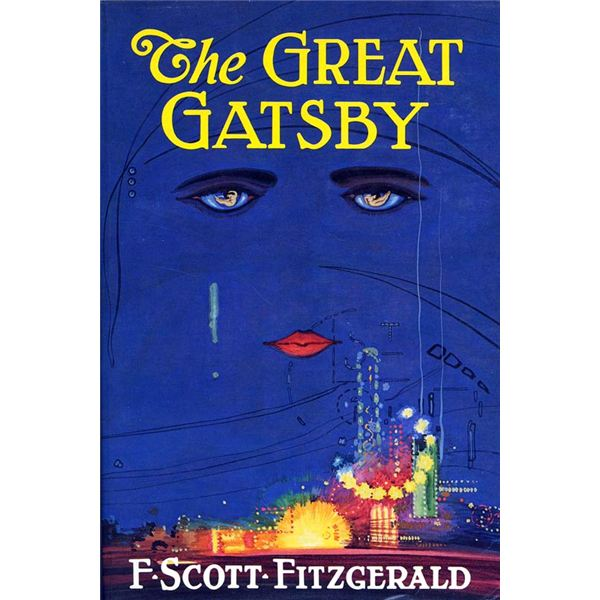 the great gatsby quoting and analysis of fitzgerald s masterpiece gatsby original cover art