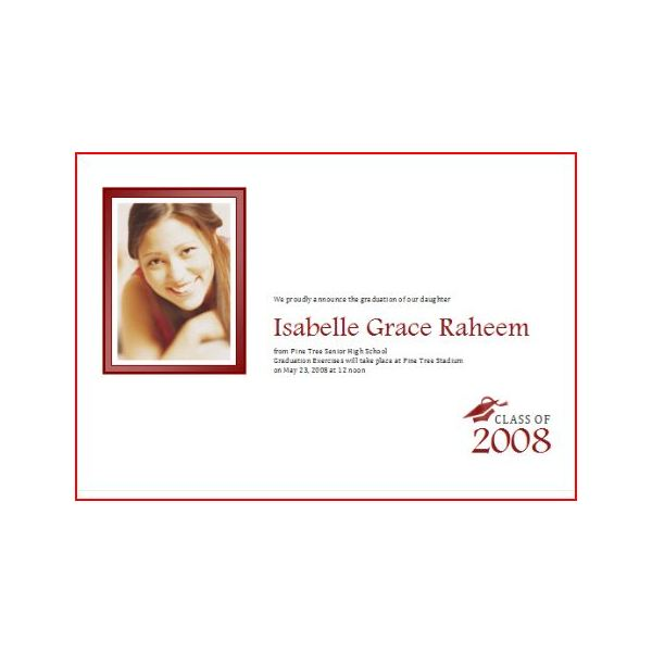 Sample Graduation Announcements To Help Make Your Own