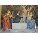 Empty Tomb - Image Credit: Sacro Monte di Crea; The finding of the empty tomb of Christ, statues by Antonio Brilla, 1889 / Public Domain