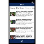 FIFA official app for Windows Phone 7