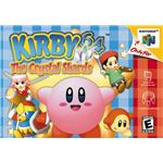 Kirby 64: The Crystal Shards - Original Nintendo 64 Box Art
