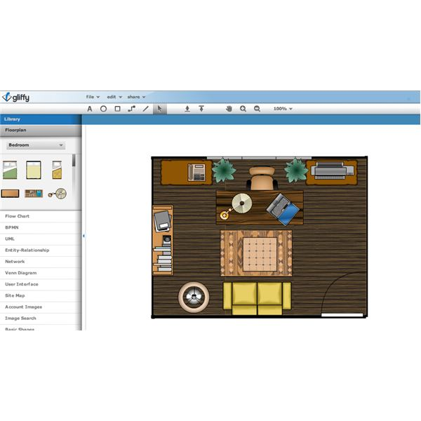 Home office design software for home owners and professionals for Office layout software