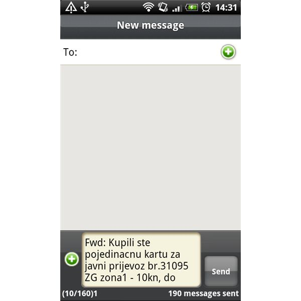 How to Forward a Text to a Group List on Android Phone