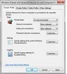 Microsoft Security Essentials uses tyhe Windows firewall.