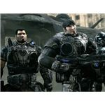 Marcus Fenix and his pals ready for some action