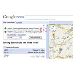 Swap Starting Point and Destination in Google Maps