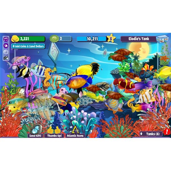 Fishville tips and tricks virtual fish tank domination for Fish tank game