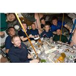 Crew of Many Nations on ISS