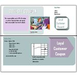 Coupon Templates for Download: Double Sided