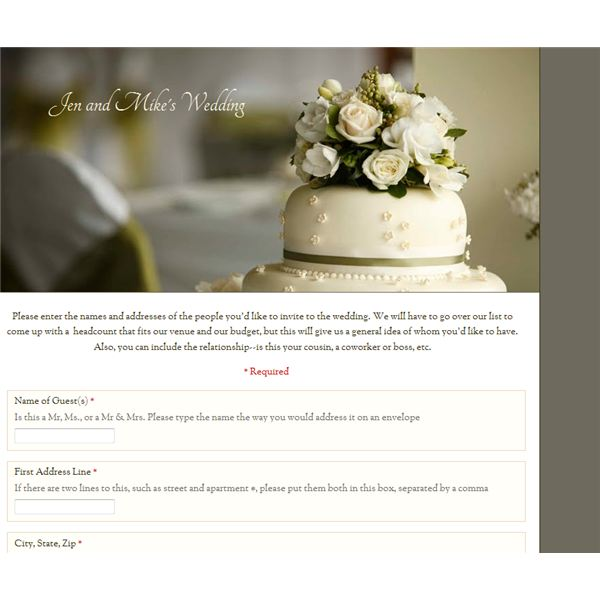 How to Create a Wedding Guest Organizer - With Google Docs!