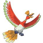 The Legendary Pokemon Ho-Oh