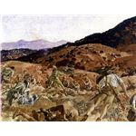 761px-The charge of the 3rd Light Horse Brigade at the Nek 7 August 1915