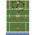 iPlayBook Lacrosse iPhone App