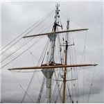 Brigantine Mast from Wiki Commons by Stan Sheps