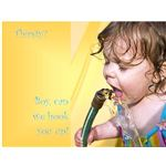 Church Postcard Templates: Thirsty