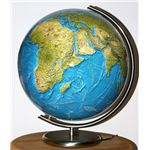 A world globe is a vital 9th grade world history resource.