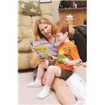 Mother Reading to Her Child with a Developmental Delay