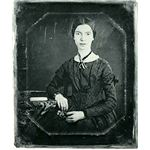 Black-white photograph of Emily Dickinson