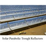 parabolic trough solar reflector