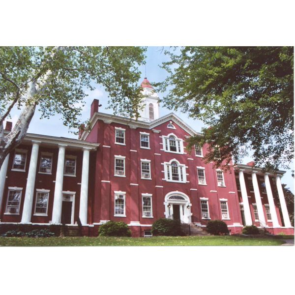 college admissions building at allegheny college a high school resume