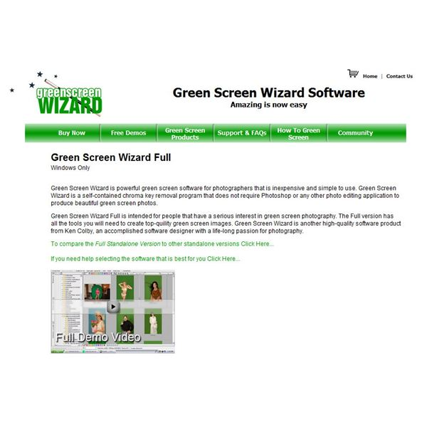 Green Screen Wizard Free Download, Reviews, Coupons, Tutorial Videos and Software