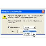 How to protect your computer address book using Microsoft Outlook