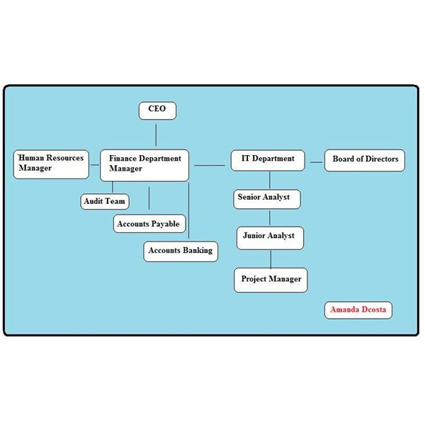 Construction Organizational Chart Template Organisation Chart Of ...