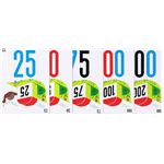 Mille Bornes Distance Cards