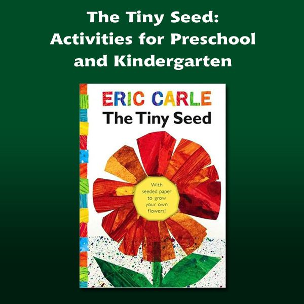 The Tiny Seed Activities for the Preschool or Elementary Classroom – The Tiny Seed Worksheets