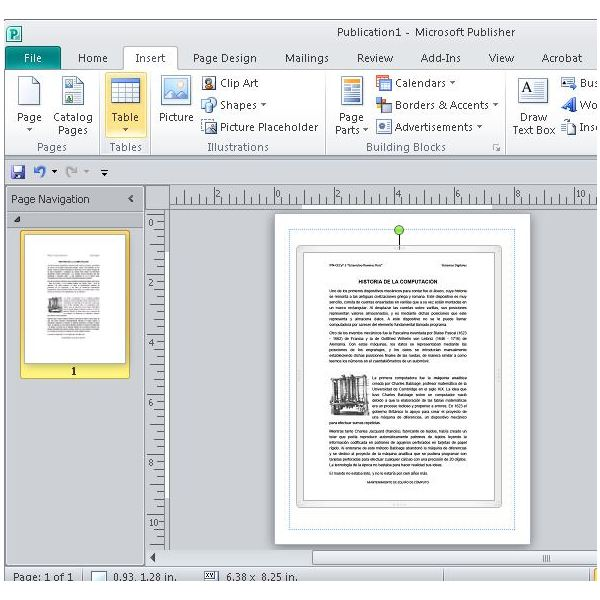 text document into pdf file