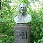 Bust of Clara Zetkin in Dresden from Wikipedia