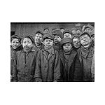 These young boys worked as coal miners in the early 1900s.Image by Wikimedia Commons/ Magnus Manske.