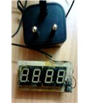 Digital Clock, Side View (2)
