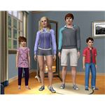 The Sims 3 Town Life clothes
