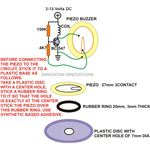 Simple Buzzer Circuit Schematic, Image