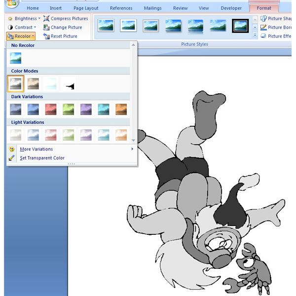 How To Make Printable Coloring Pages In Microsoft Word 2007