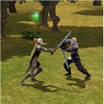 The Sims Medieval Sword fighting