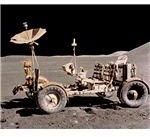 LRV on Moon